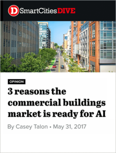 Three reasons the commercial buildings market is ready for AI